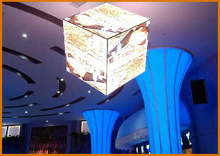 Special Shaped LED Display Screen